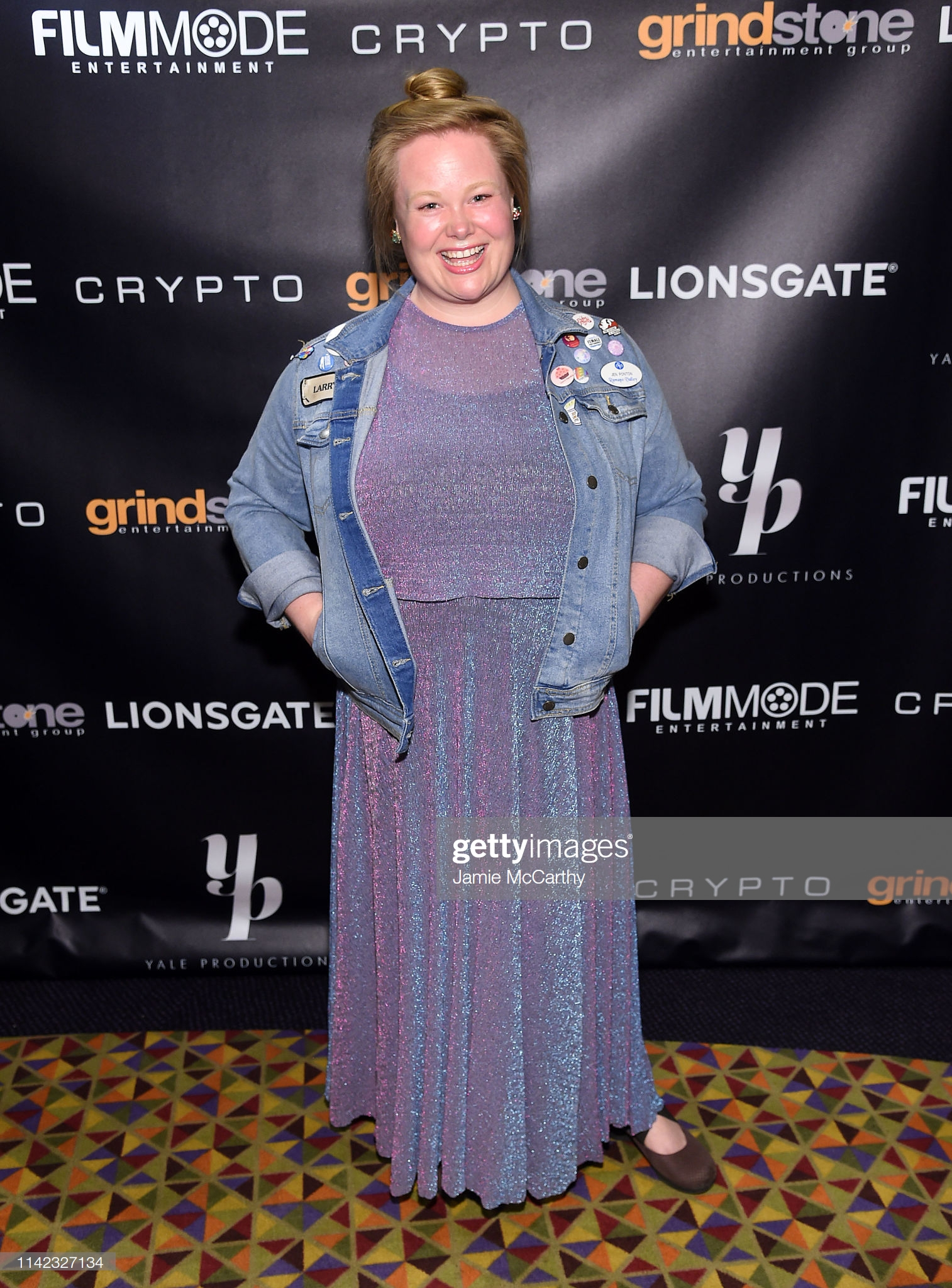 Jen Ponton attends the CRYPTO Premiere in New York City