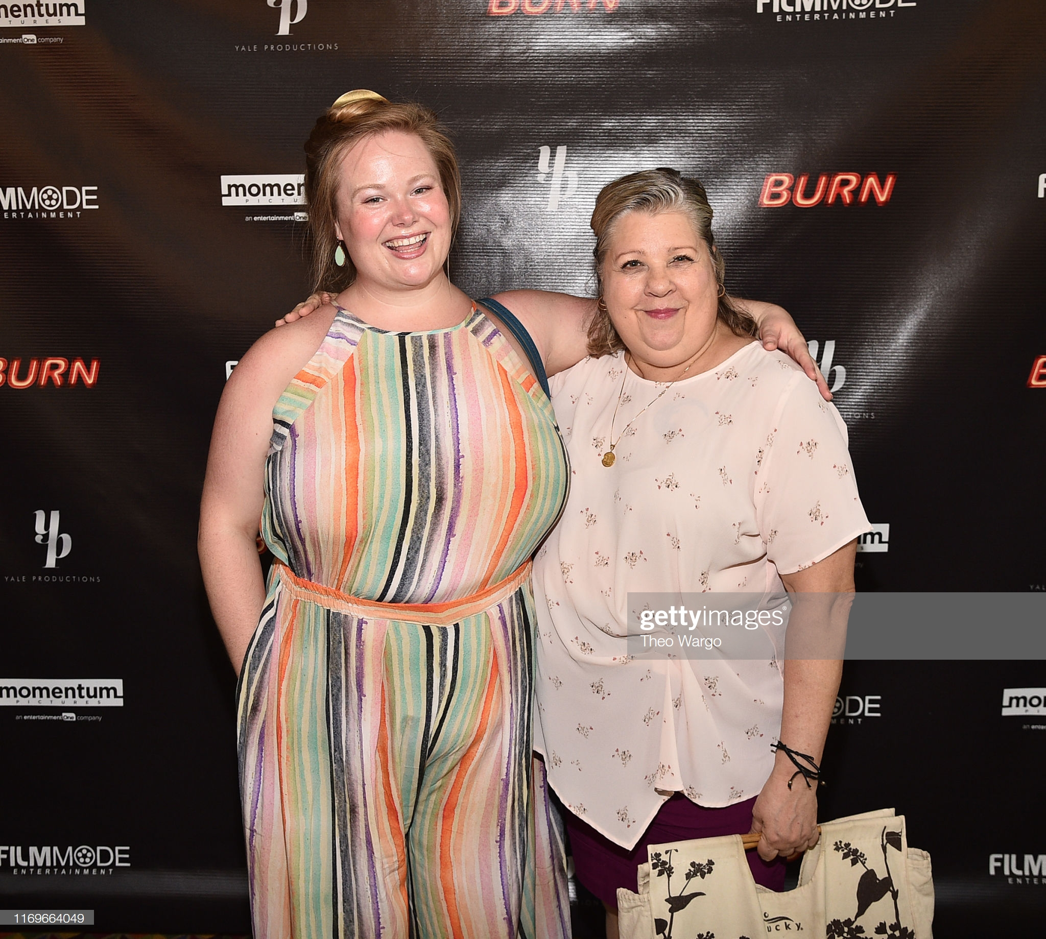 Jen Ponton attends the Burn premiere in New York City