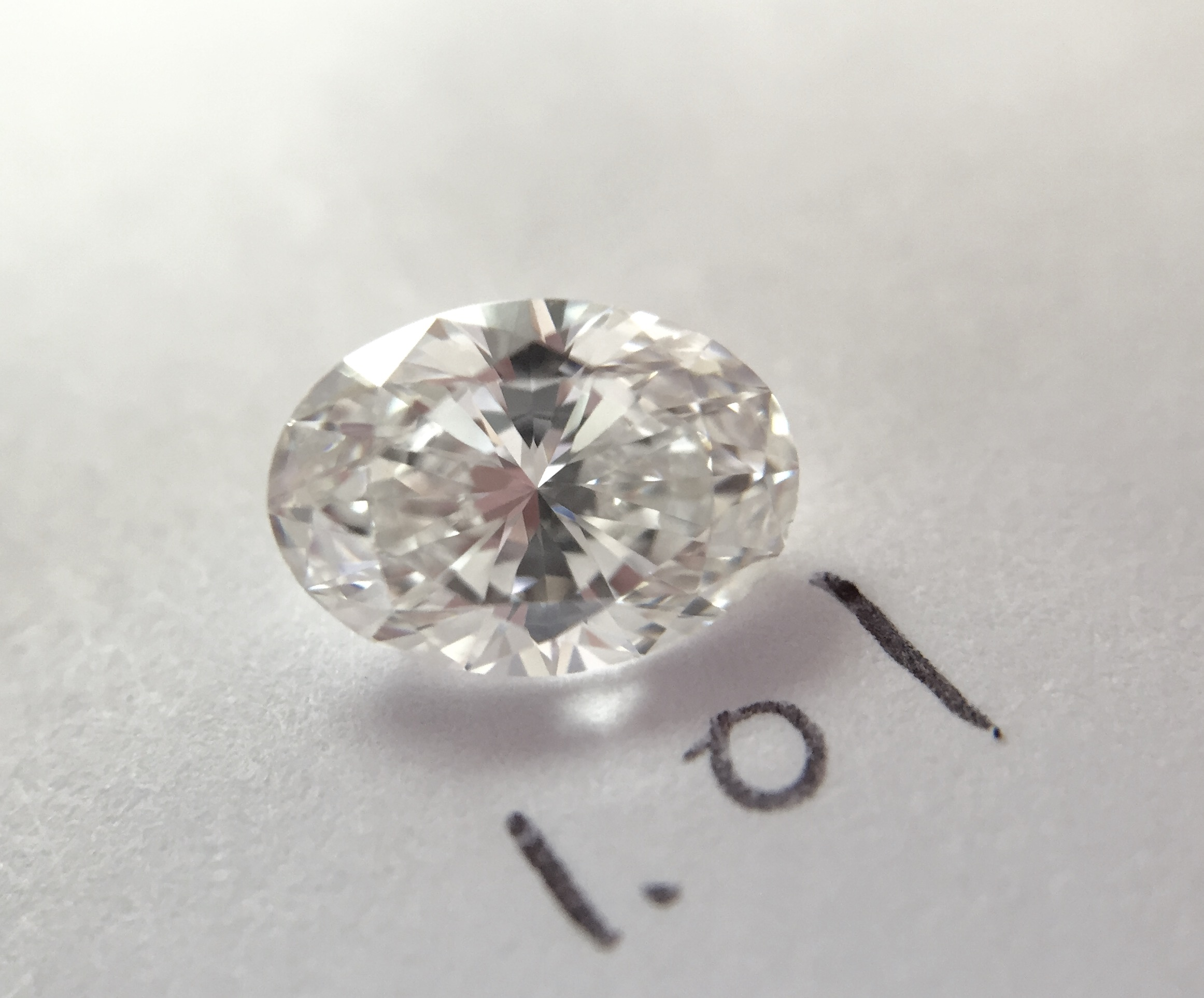 oval shape loose diamond
