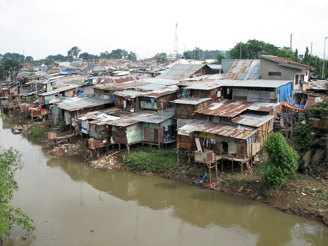 The kampung of Manggarai, Jakarta, Indonesia. Photo by Mario Wilhelm