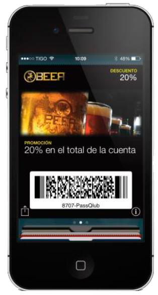 cupon digita passclub beer