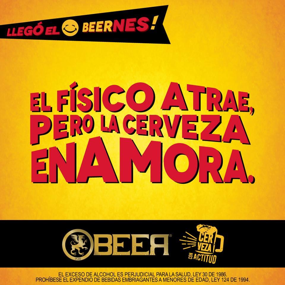 La cerveza enamora