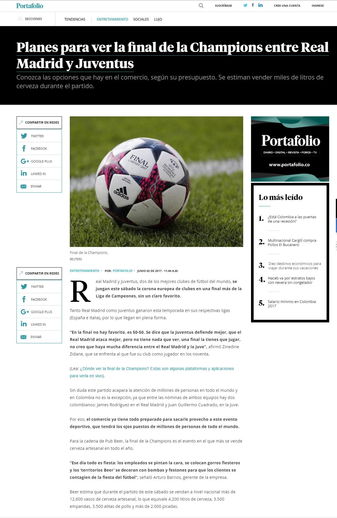Publicación Portafolio