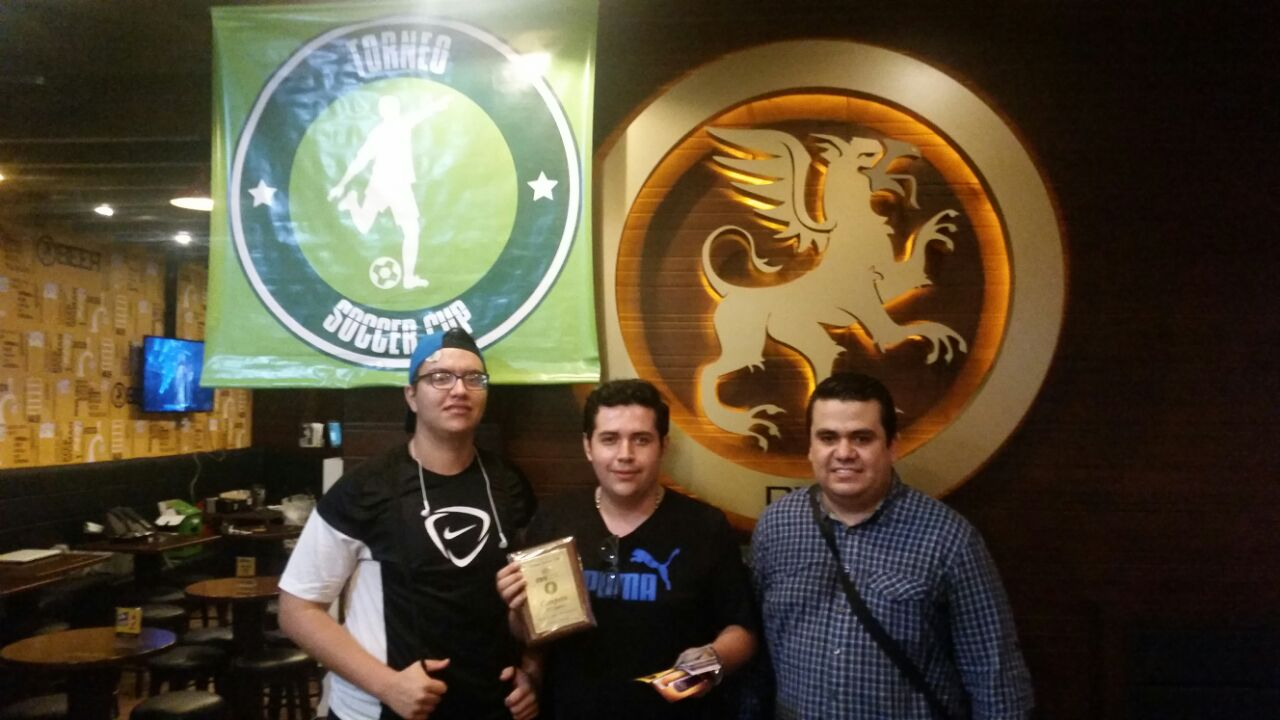 ganadores gamers soccer cup