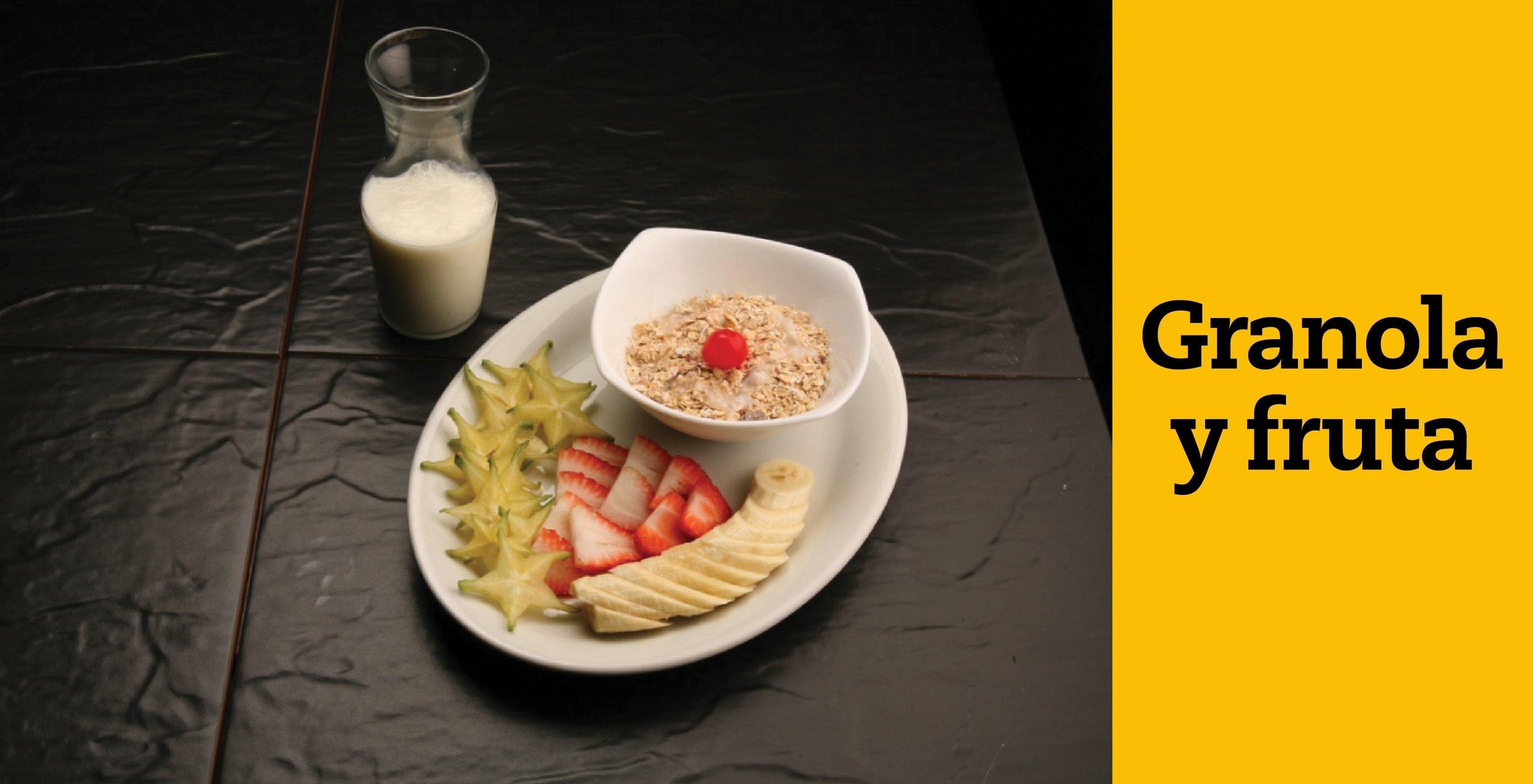 beer- desayuno jm cordova-granola con fruta