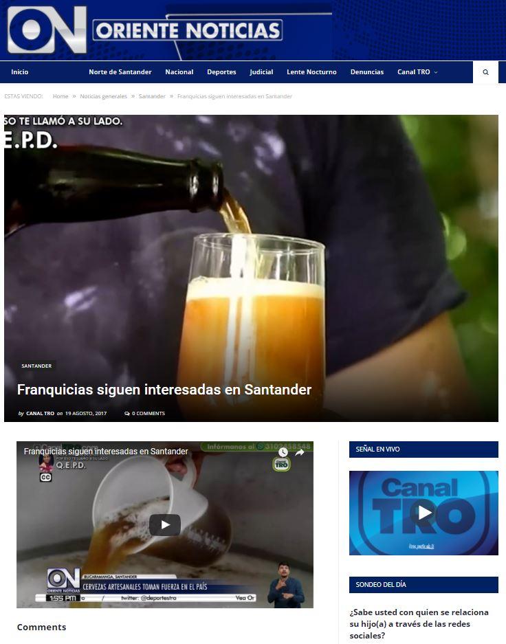Franquicias siguen interesadas en Santander