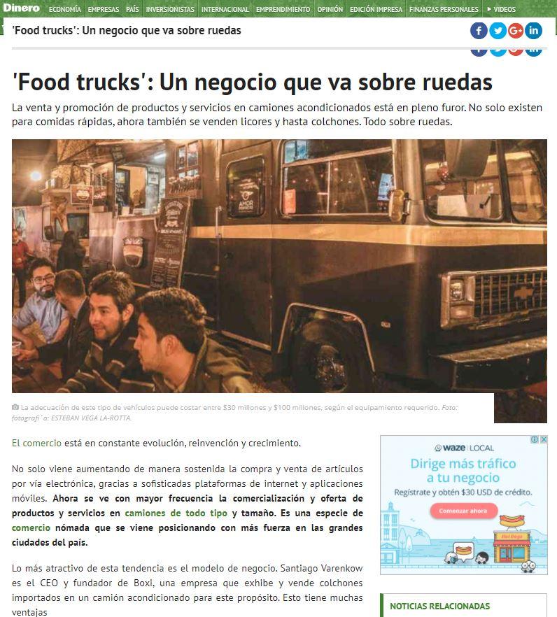 """Food trucks: """"Un negocio que va sobre ruedas"""