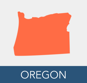 Oregon button - orange map; navy box.png