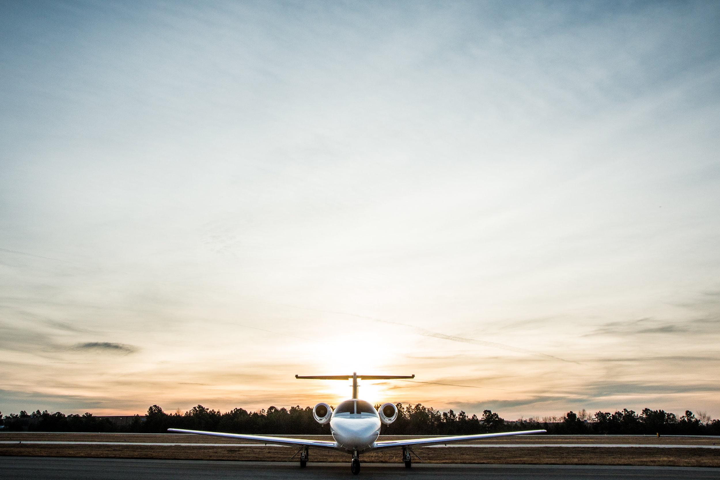 Lanier Flight Center Charter Jet