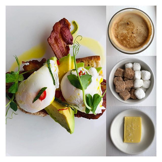 So nice to drop in and see our friends @thelittlegloster What a beautiful breakfast prepared by  maestro @santi.dude 🙂 this morning. Thanks guys so much  #isleofwight #isleofwightfood #breakfast #cowes #gurnard