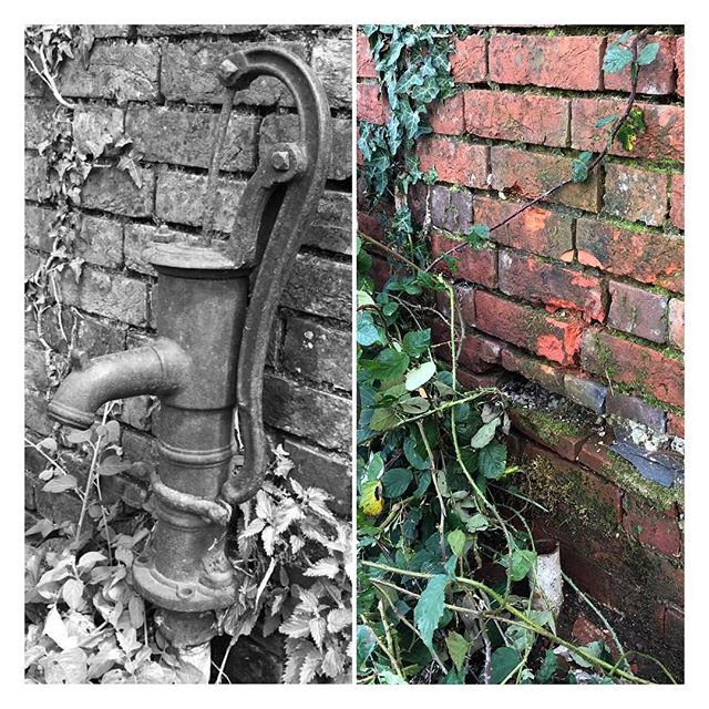 Sad times... our beautiful old water pump that's been on the farm for over 100 years was STOLEN over the weekend.. 😢 Butchered off with an angle-grinder by the look of it. Why???? #halfinched #cheers #rascals