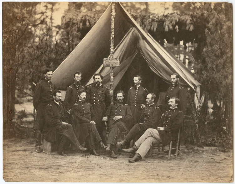 Surgeon's Head Quarters, Third Divisions Hospital, 9th Army Corps, August, 1864 | Southern Methodist University Library, Flickr CC