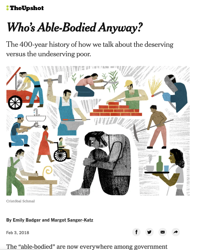 Who's Able-Bodied, Anyway?