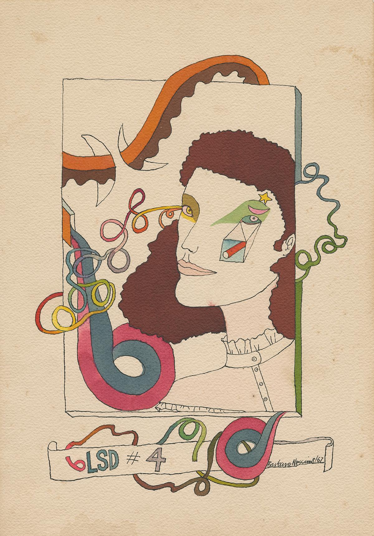 <i>LSD on the Move No. 4</i>, 1967