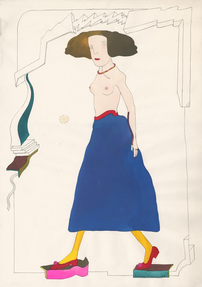 <i>Fashionably Blue</i>, 1968