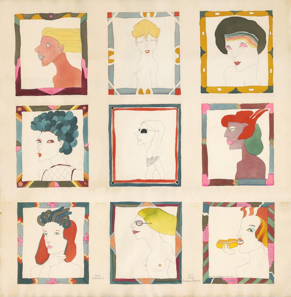 <i>Nine Portraits</i>, 1968