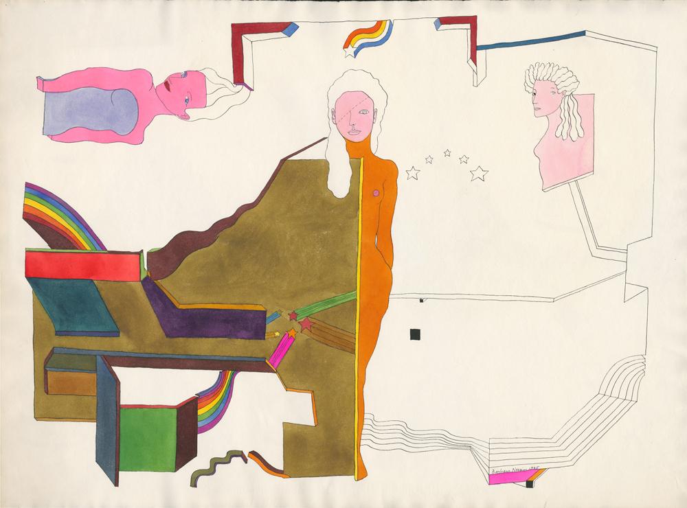 <i>Three Attached</i>, 1965