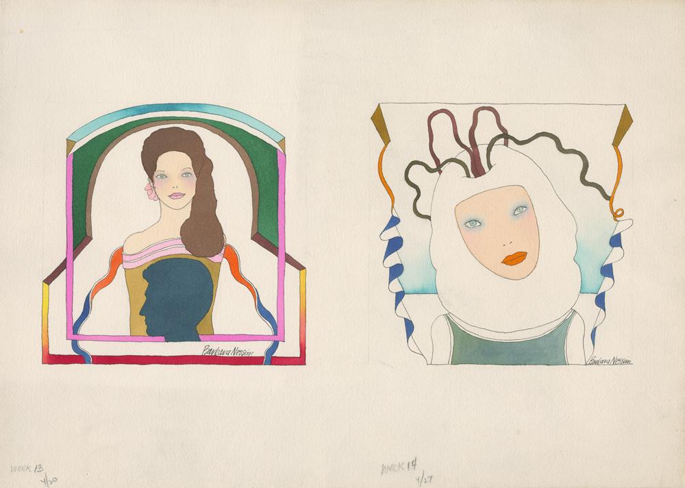 <I>Looking Left</I> and <I>Confused Thinking</I>, 1970
