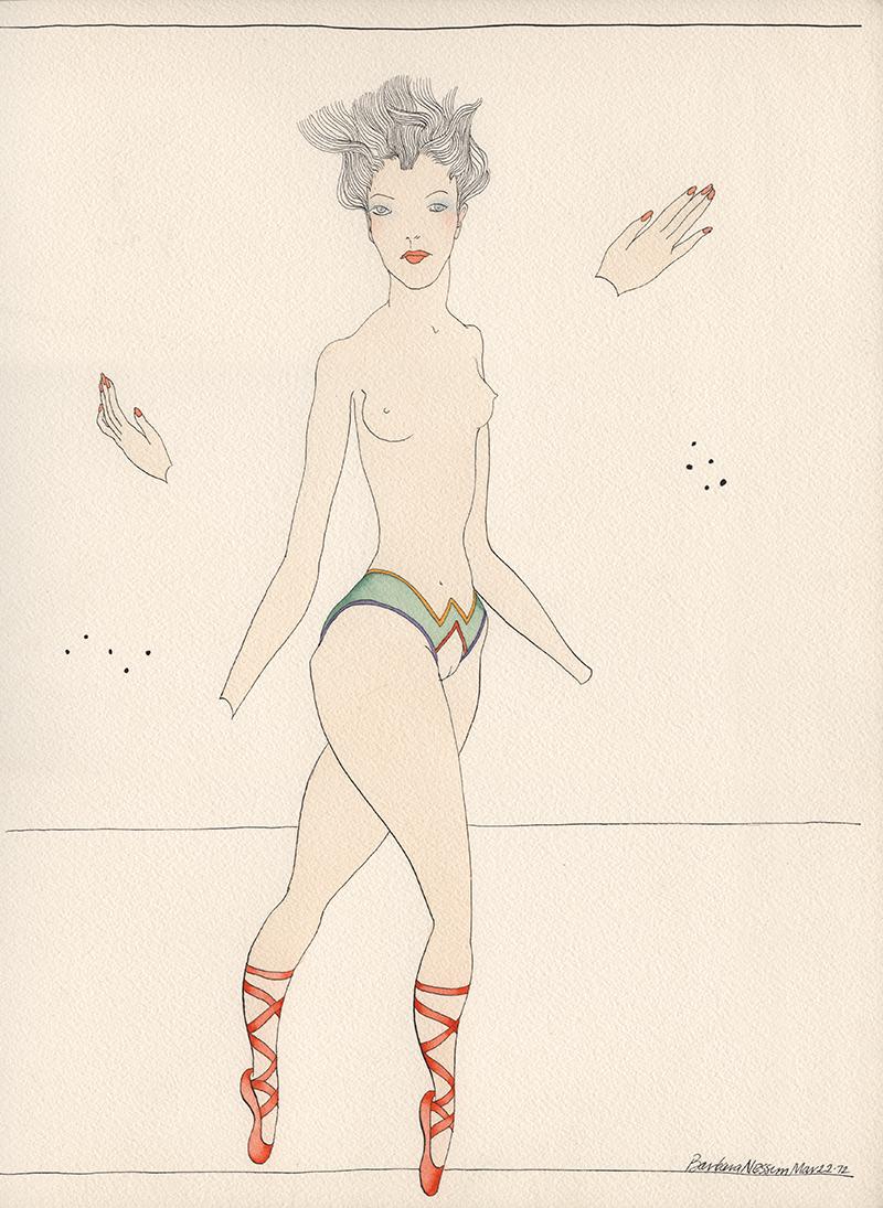 <I>Ellen with Floating Hands</I>, 1972