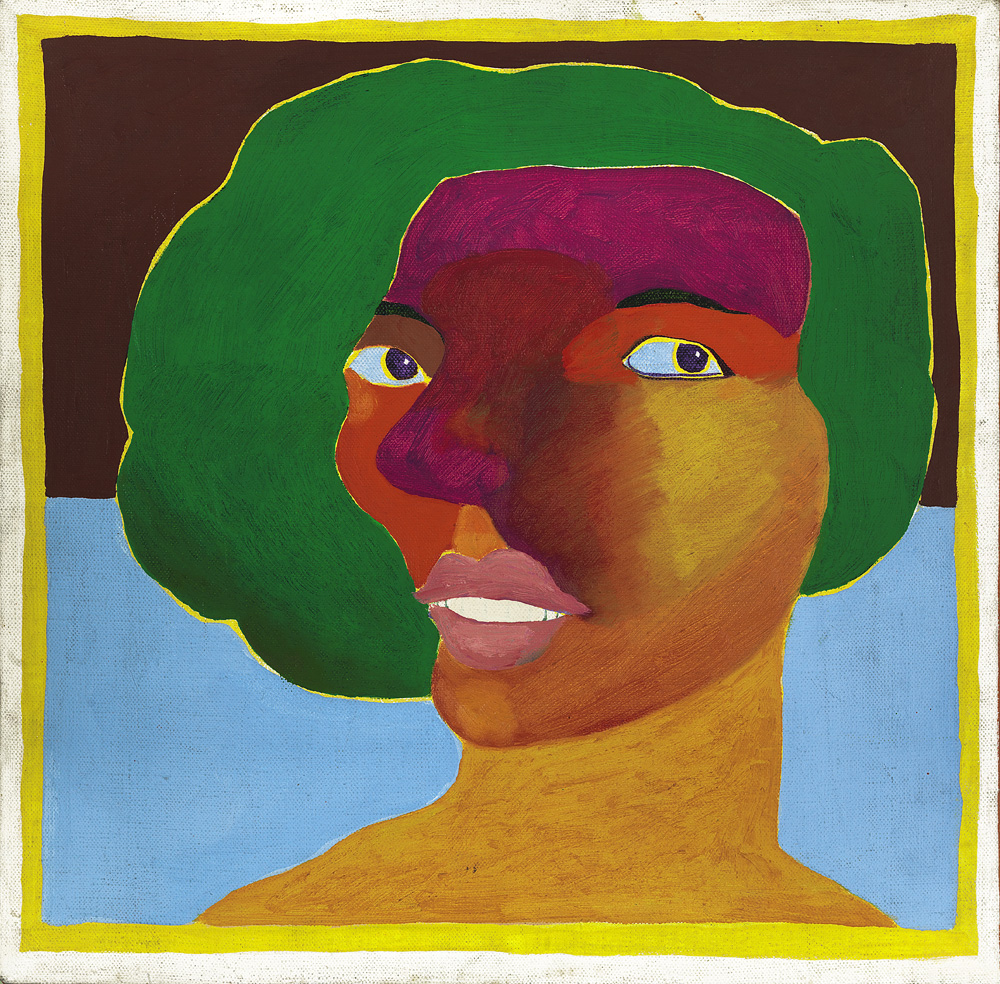 <I>Woman with Green Hair</I>, 1965