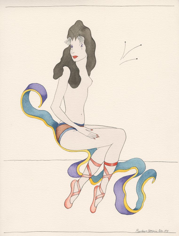 <I>Floating While Sitting</I>, 1971