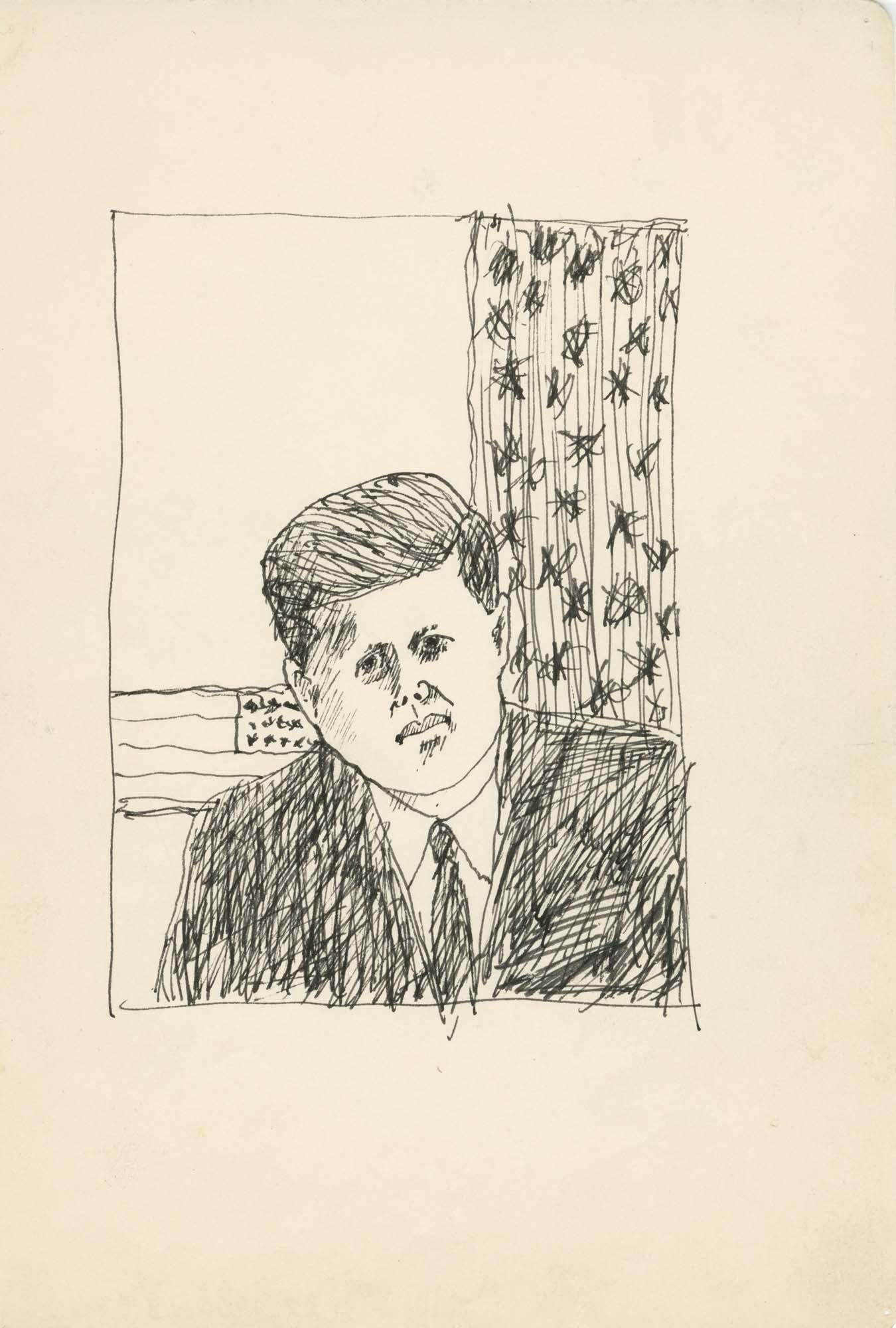 <i>John F. Kennedy Portrait</i>, 1960