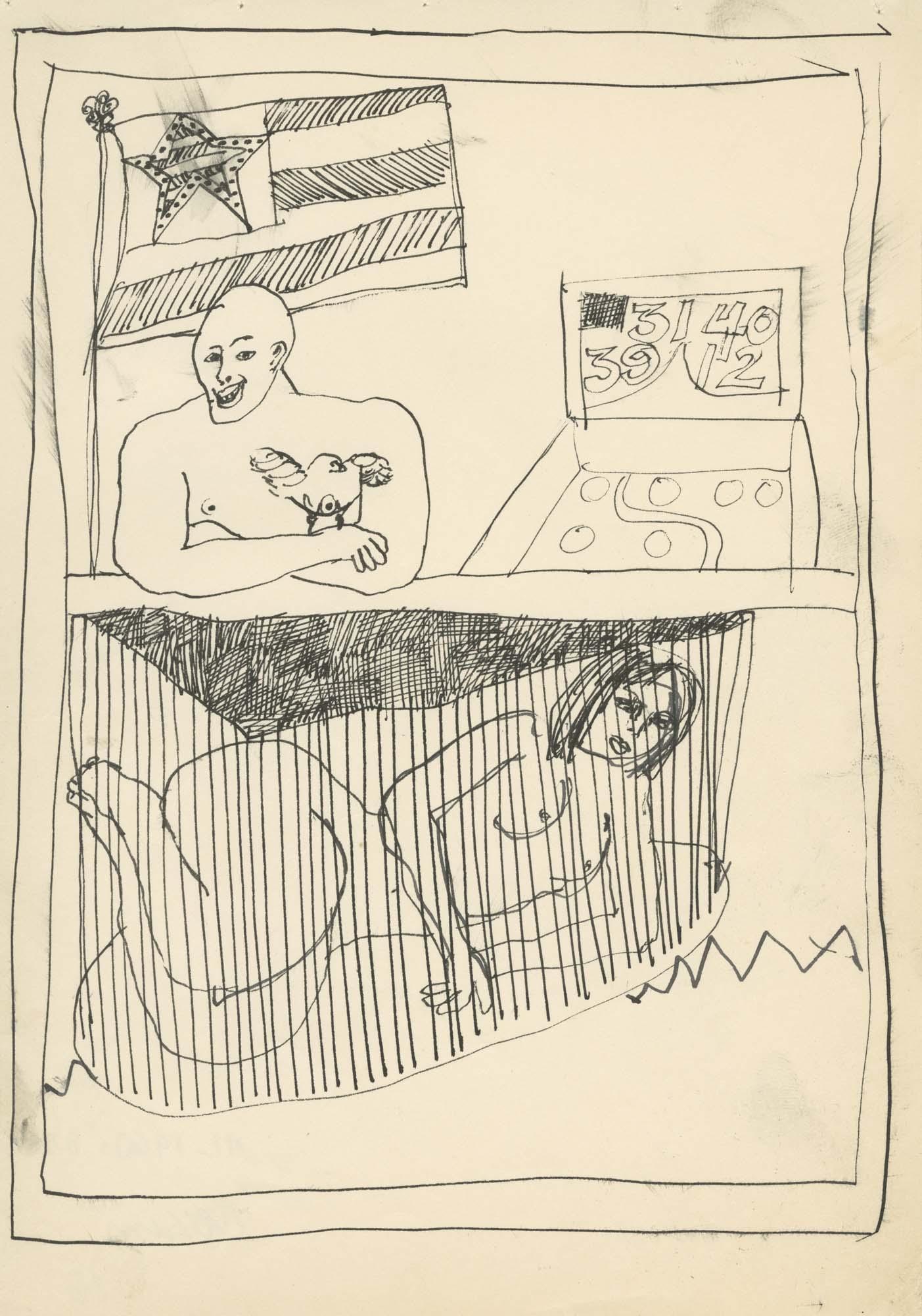 <i>Caged Woman</i>, 1960