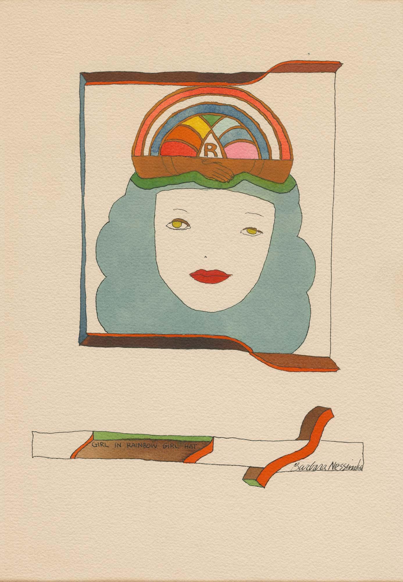 <i>Girl in Rainbow Girl Hat</i>, 1966