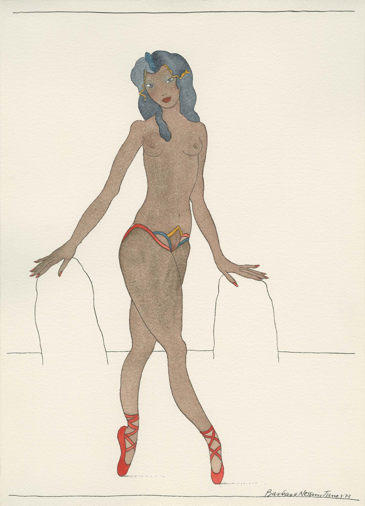 <I>Yvonne with Rainbow Panties</I>, 1973