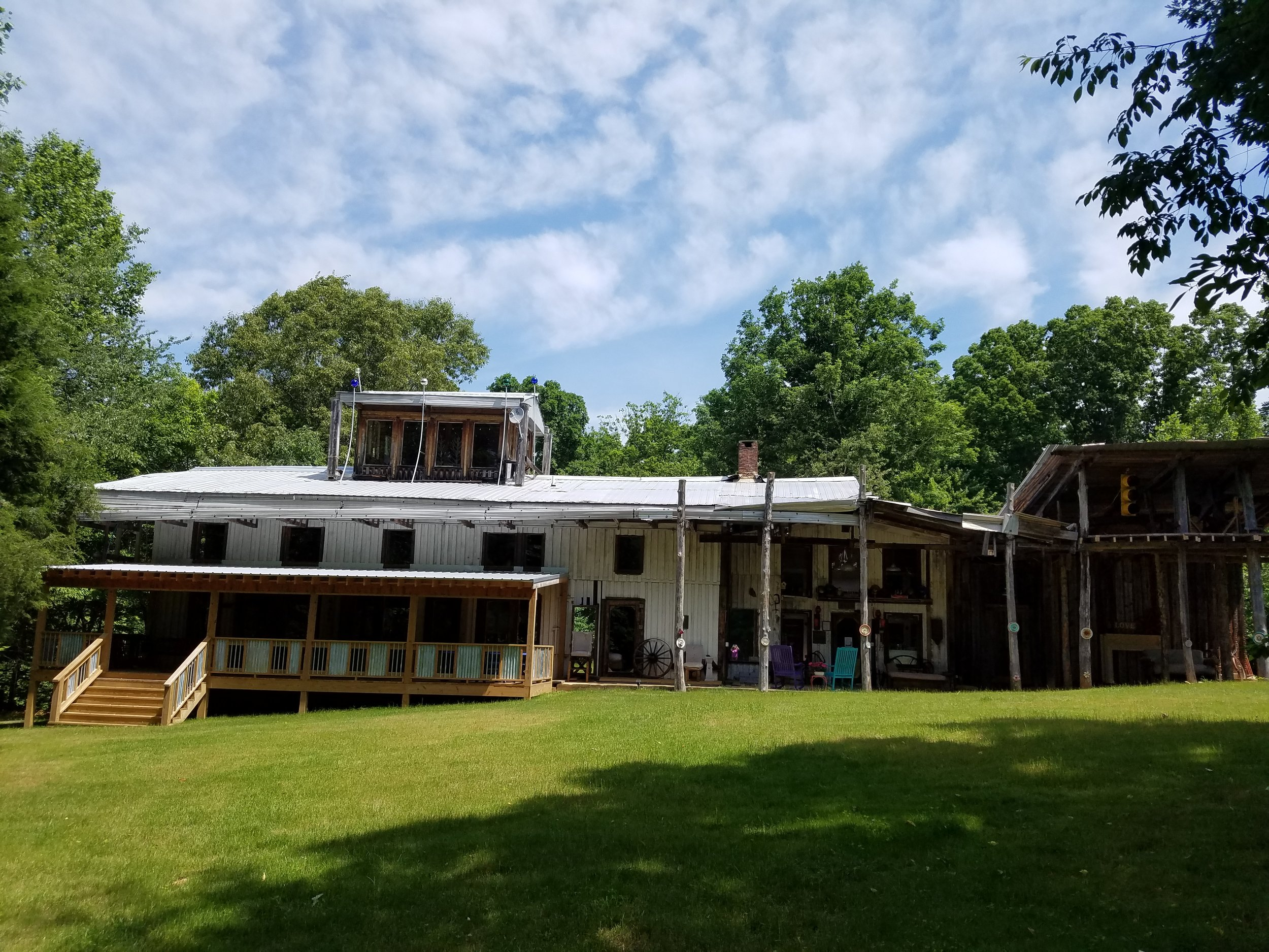 """The Helsabeck House Farm.............""""where your fairy tale become a reality""""."""