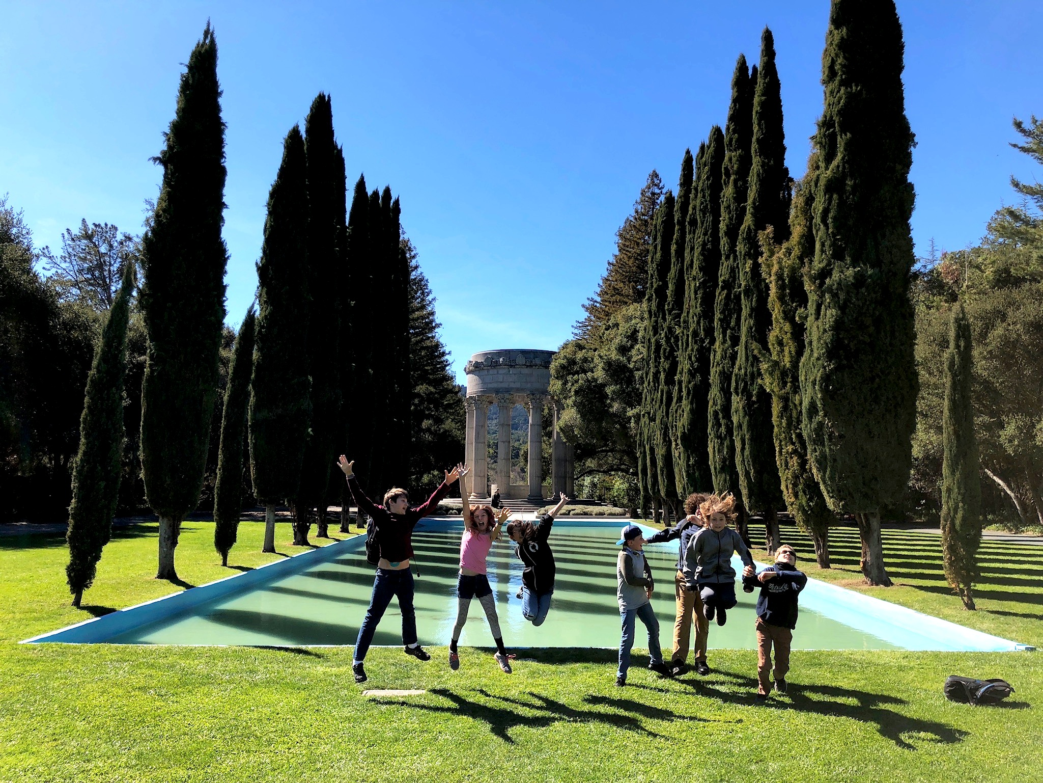 Visiting the Pulgas Water Temple