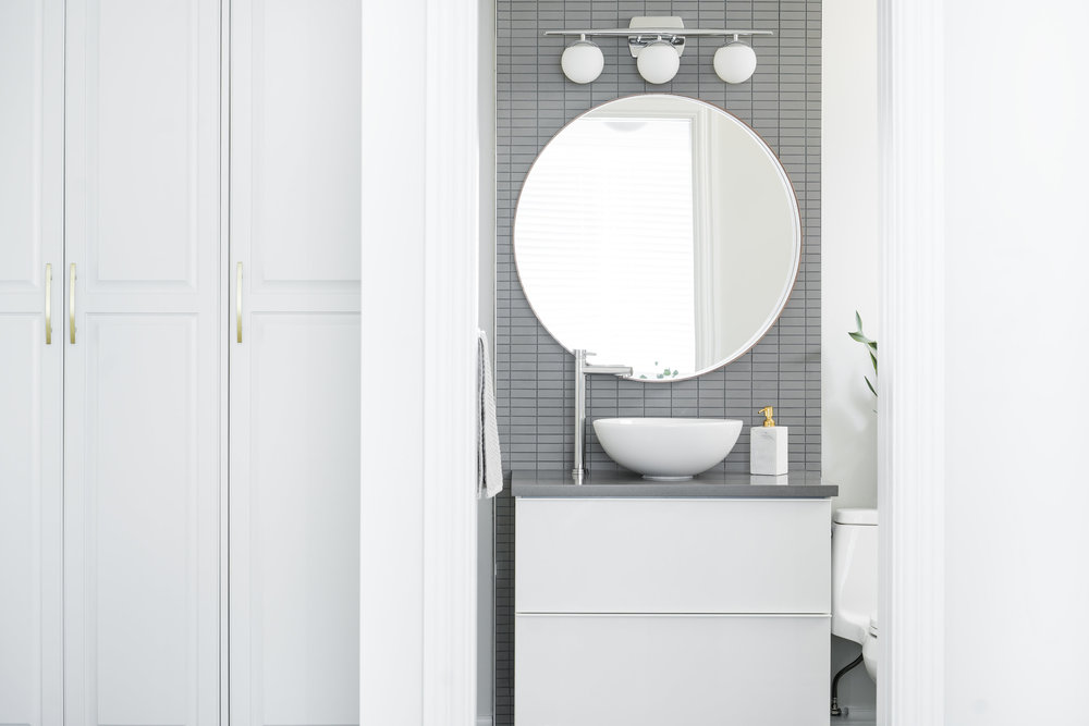 MJAY Photography - Gioia Interiors - Memorial Drive Condo Bathroom