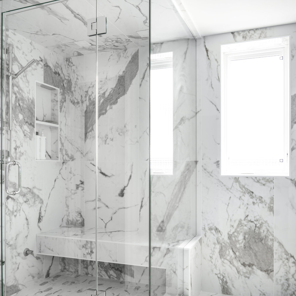 MJAY Photography - Gioia Interiors - Memorial Drive Condo Ensuite Shower