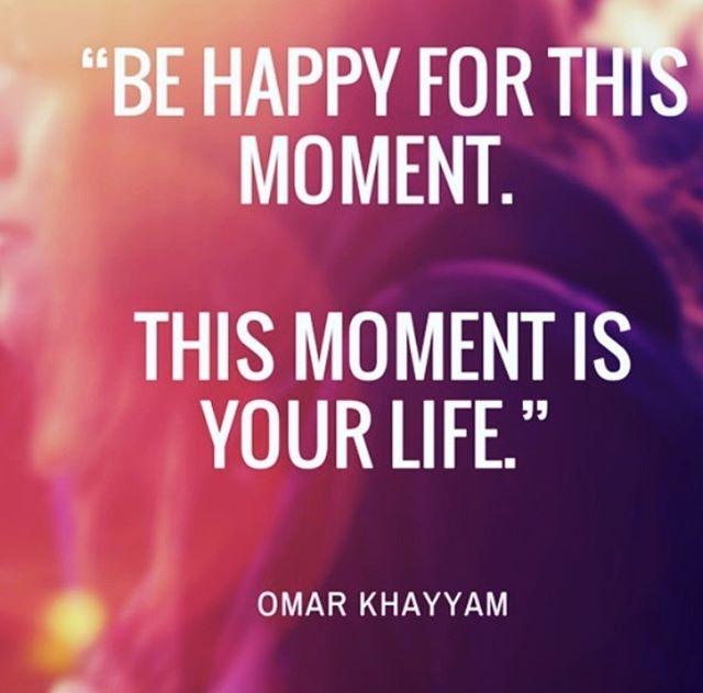 Enjoy EVERY moment!  #livenow