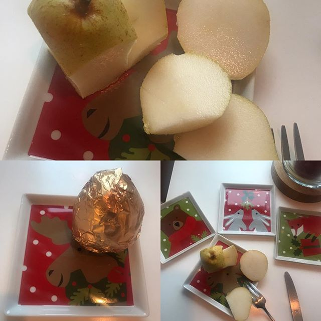 More photos of the #goldpear