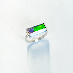 Ammolite Ring Size 7 12