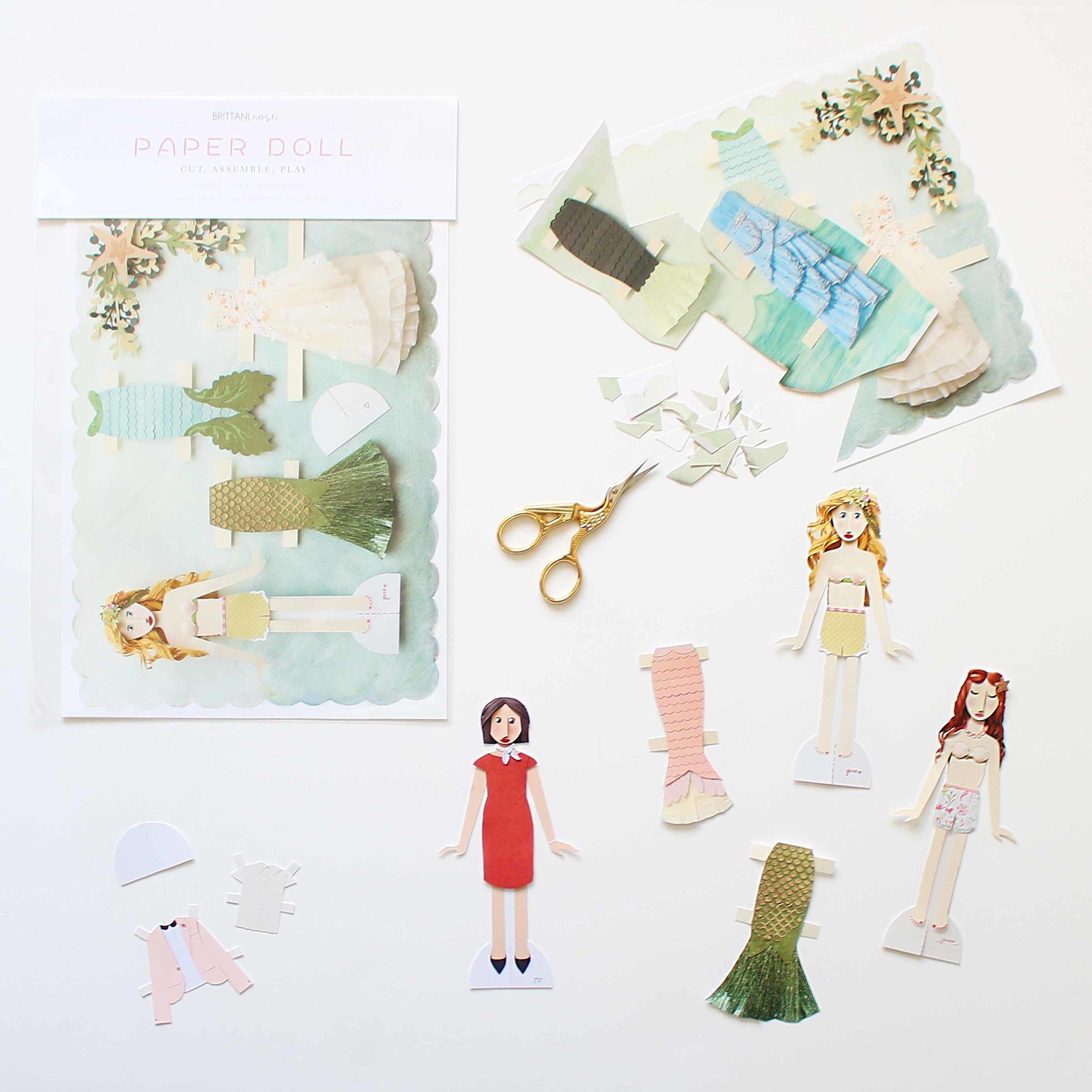 Paper Dolls by Brittani Rose Paper