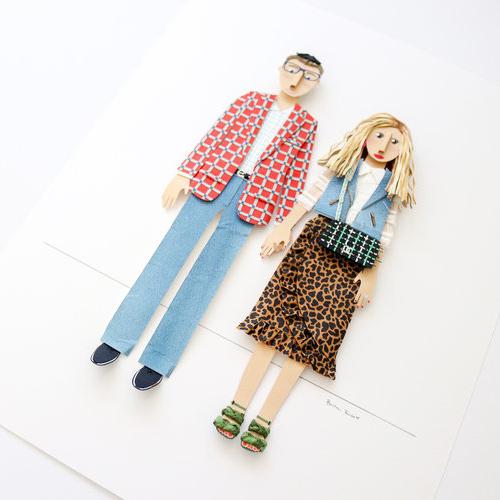 - Custom Paper Portraits