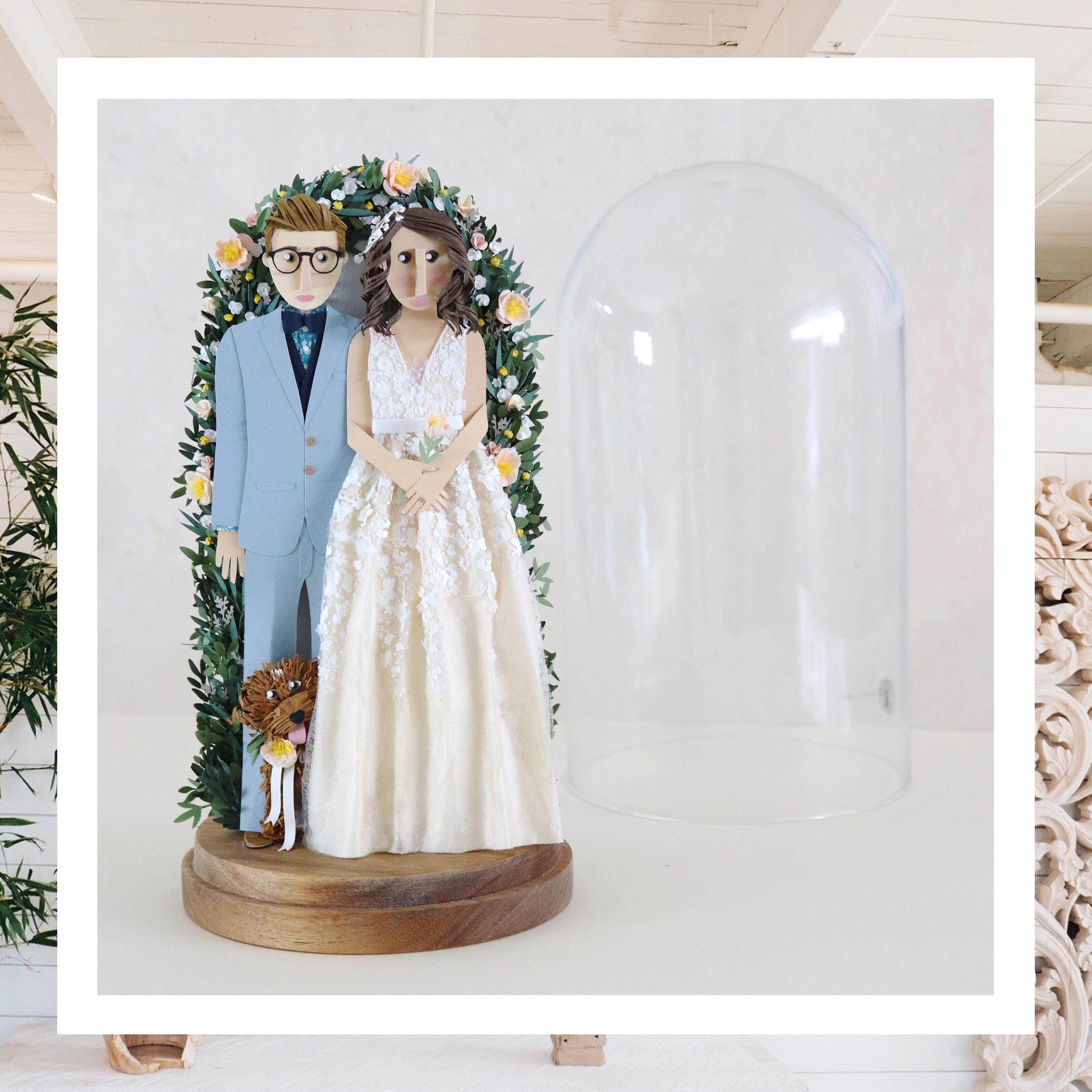 - Display Glass Dome Portrait