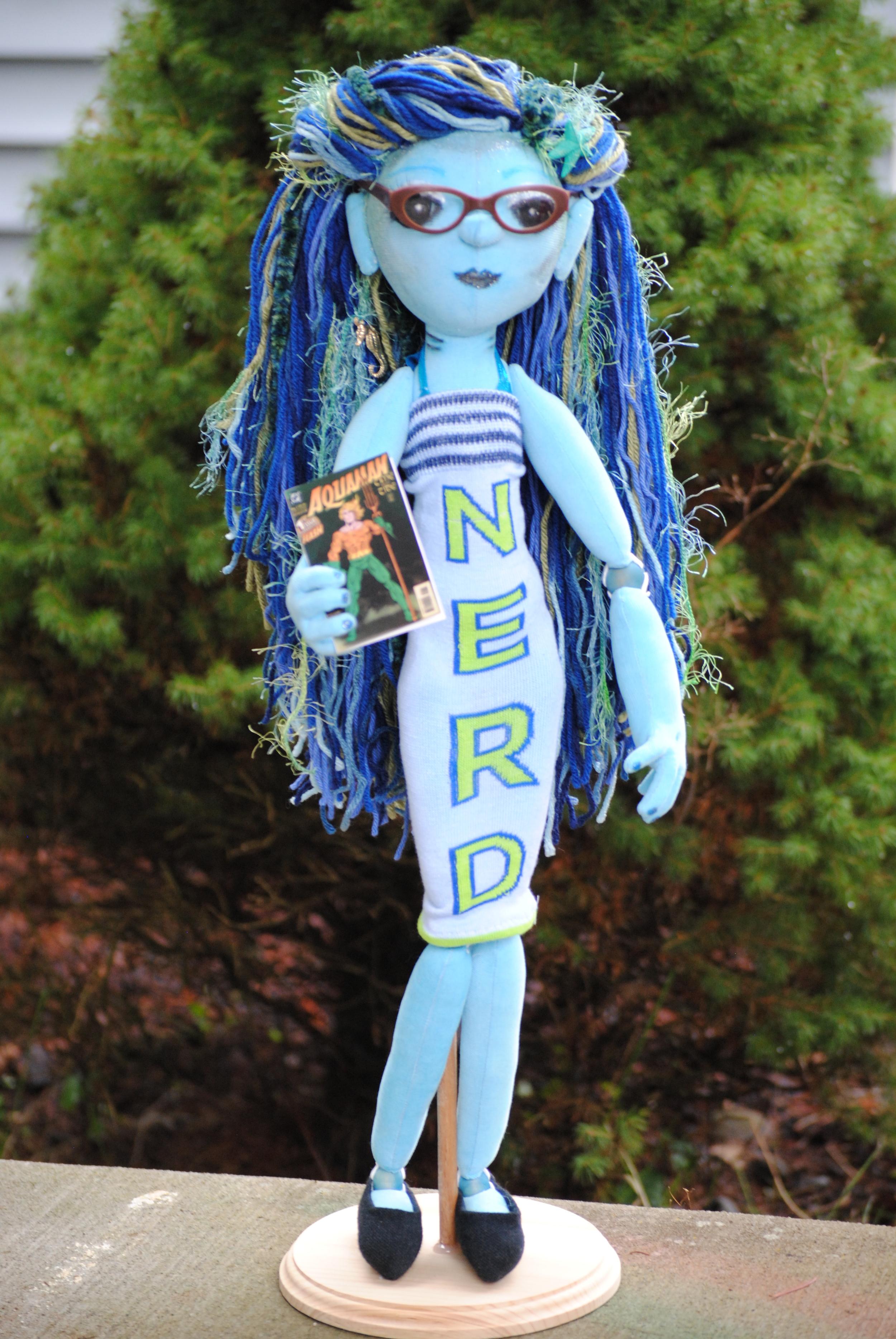 Creatures Cyd the Nerdy Mermaid.JPG