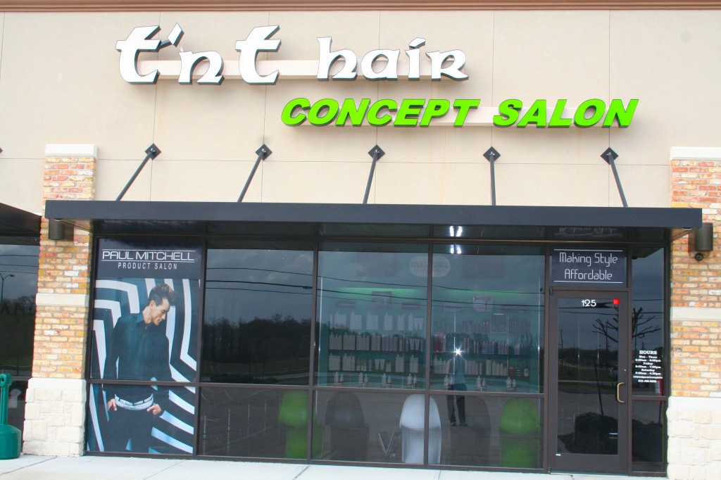 T'nT Hair Concept Salon - 7219 Fairmont Parkway, Suite 125