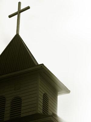 church stealing