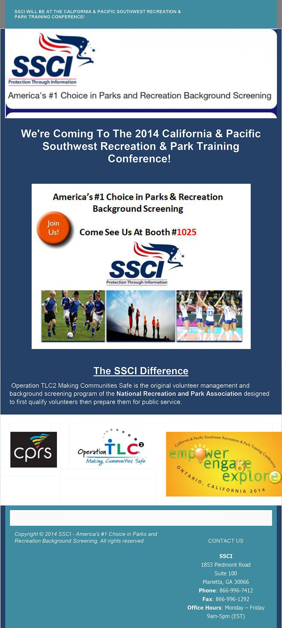 ssci conference