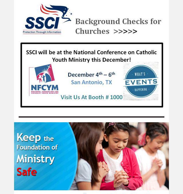 keep ministry safe