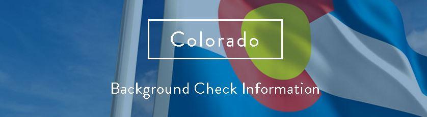 Colorado Background Check Information