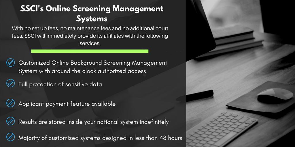 SSCI Online Management System