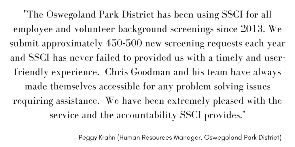 Oswegoland Park District Illinois Parks and Recreation Department