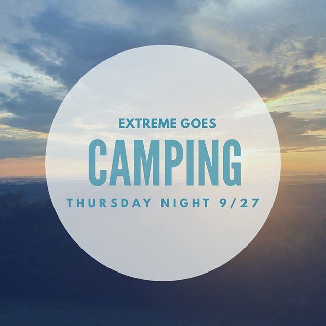 Come camping with us!!! This Thursday evening we are heading over to Hanging Rock for a campout. Friday morning we'll hike back to MTYC (or drive back, for those who prefer wheels over legs). DM us if you are interested! (Camping trip is free of charge.)