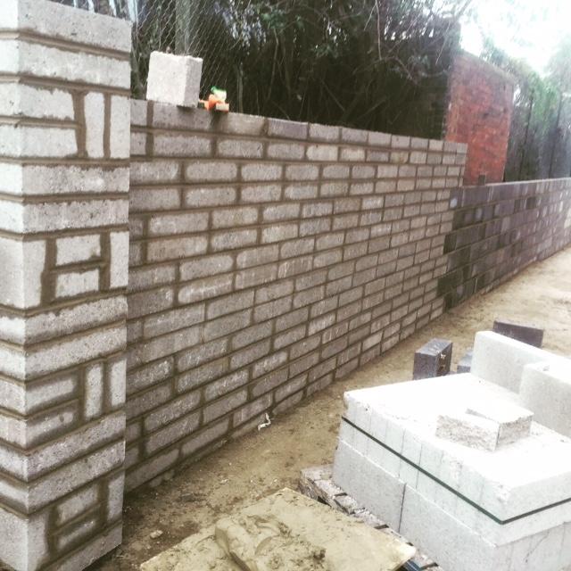 Boundary wall Waddon House