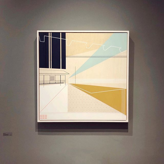 Thank you very much to @saatchiart for featuring 'High Tide' in their New This Week collection 👏✨ . . . . . . #saatchiart #saatchi #saatchiartist #newthisweekcollection #edinburghbasedartist #mairitimoney #scottishartist #scottishcontemporarypainter #geometricart #collection #landscape #minimal #mustard #blue #shapes #feature #studiospace #pattern #paper #japanese #inspiredbyarchitecture #architecture #straighlines #artist #artforsale #lines #love #work #artwork #painting